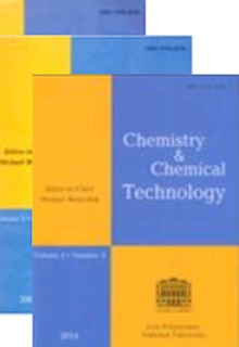 cover journal Chemistry & Chemical Technology